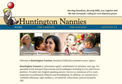 Huntington Nannies